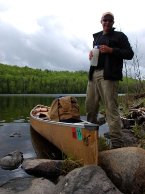 Eco-tourism and leave-no-trace backcountry travel (Boundary Waters Wilderness Area, MN)