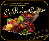 CaRo's Cellar_wine label