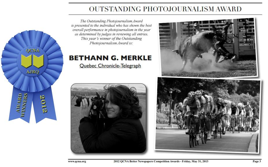 Outstanding Photojournalism Award_QCNA (2012)