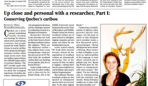 Conserving Quebec caribou_I