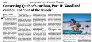 Conserving Quebec caribou_II