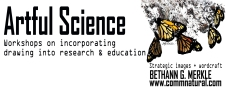 Artful Science_workshops header