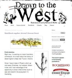 Drawn to the West_blog screenshot