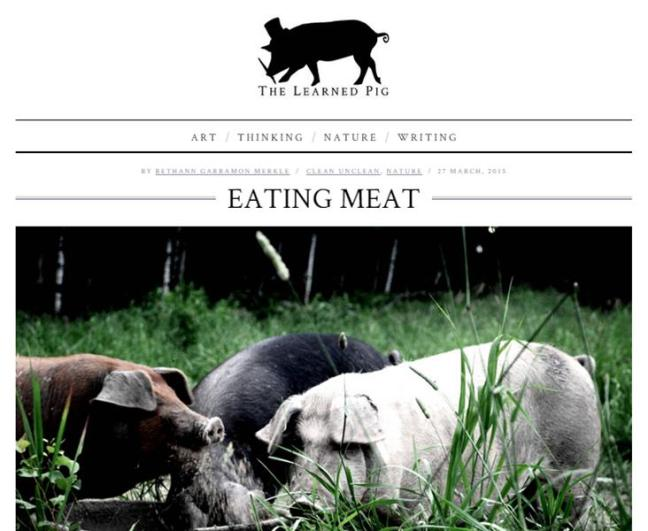 Eating Meat_The Learned Pig_screenshot (04.2015)