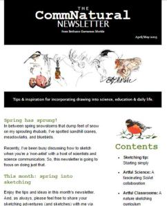 Screenshot of newsletter_click image to read newsletter