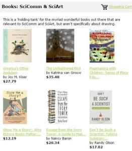 Books_SciComm & SciArt
