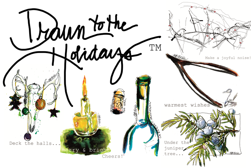 Drawn to the West_holiday 2015
