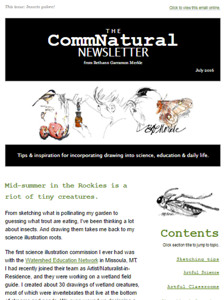 July 2016_CommNatural newsletter_screenshot