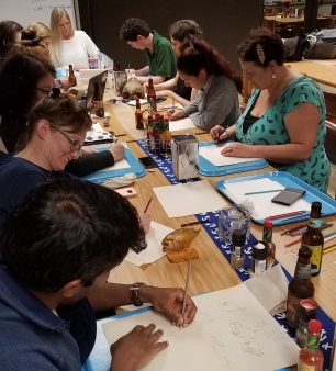 Drawn to Science professional development workshop (Louisiana Universities Marine Consortium)